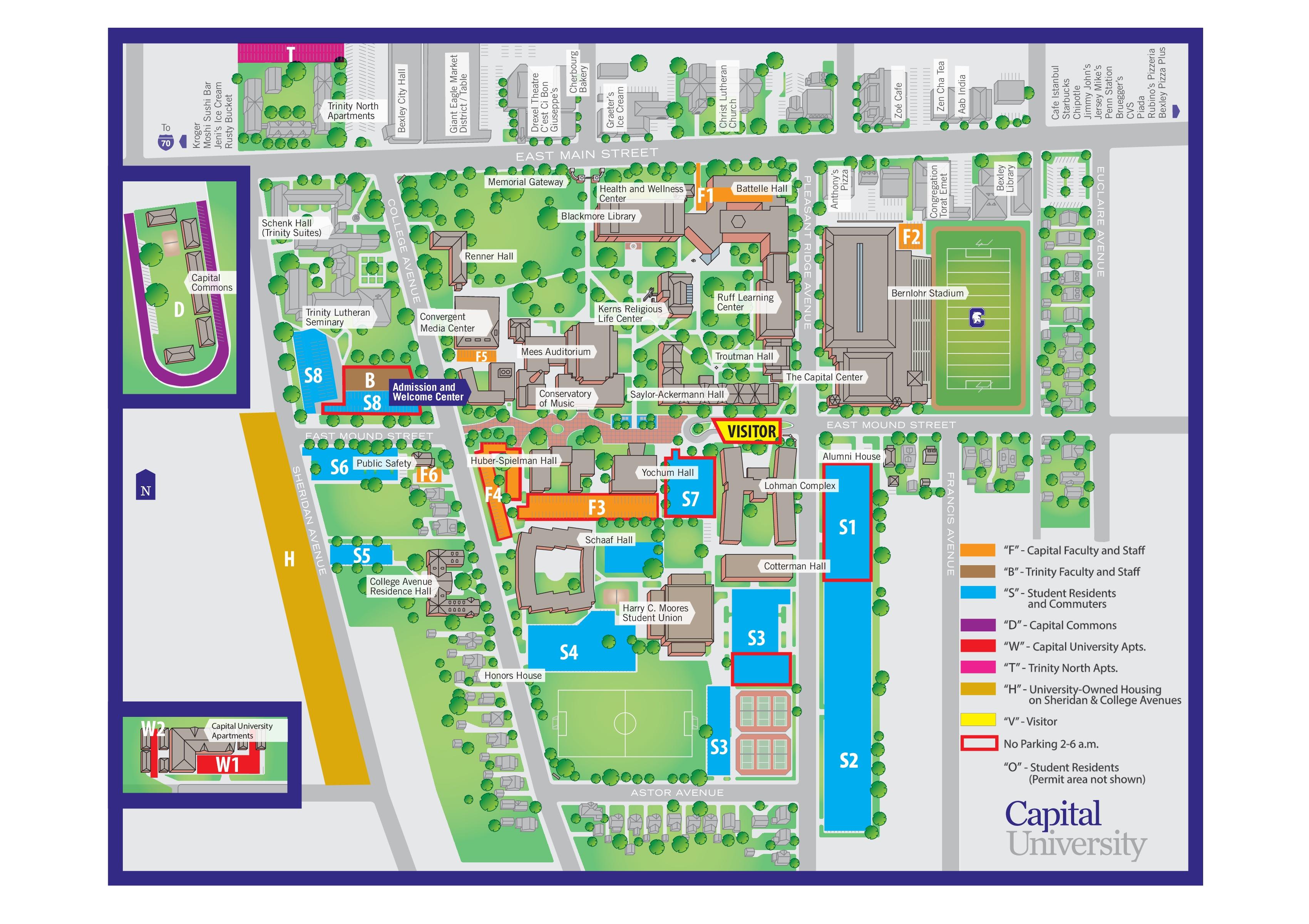 Dayton Area Map | Dayton Directions & Maps