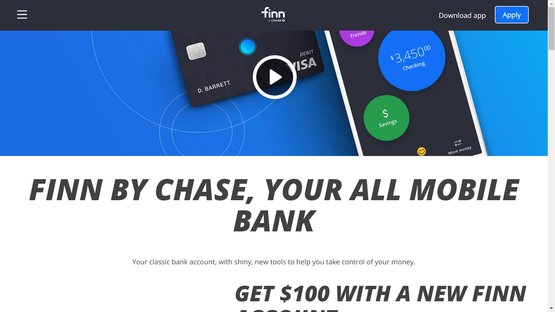 Finn by Chase: a bank for millennials? - The Chimes