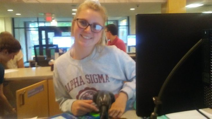 Alicia Logue, senior early childhood education and intervention major