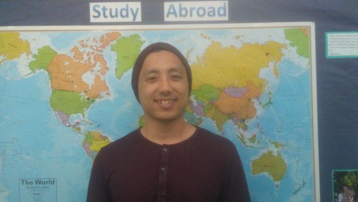 Ishan Thapa, senior music major and film and media minor