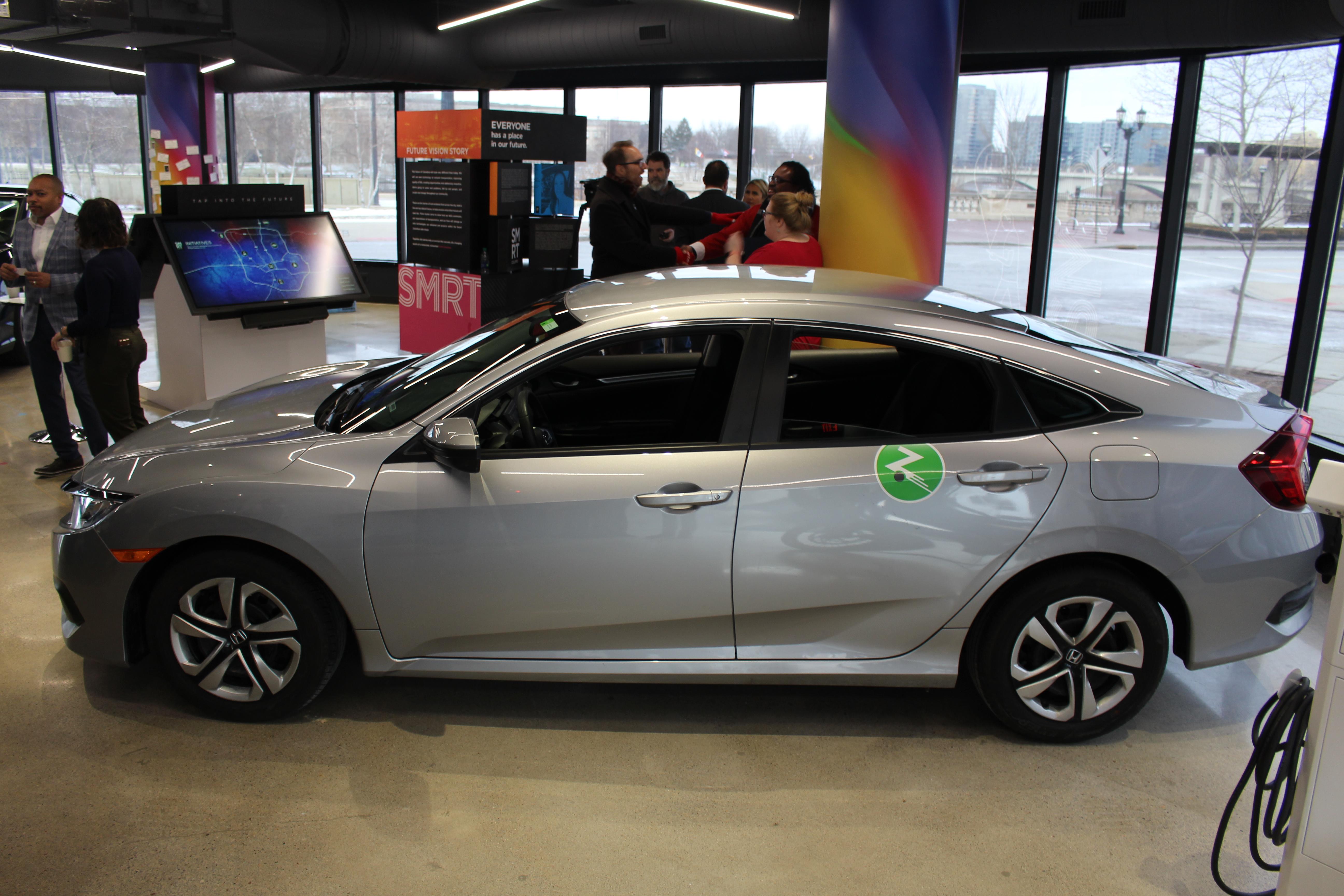 Zipcar announces Honda partnership, new Columbus fleet of 30 cars
