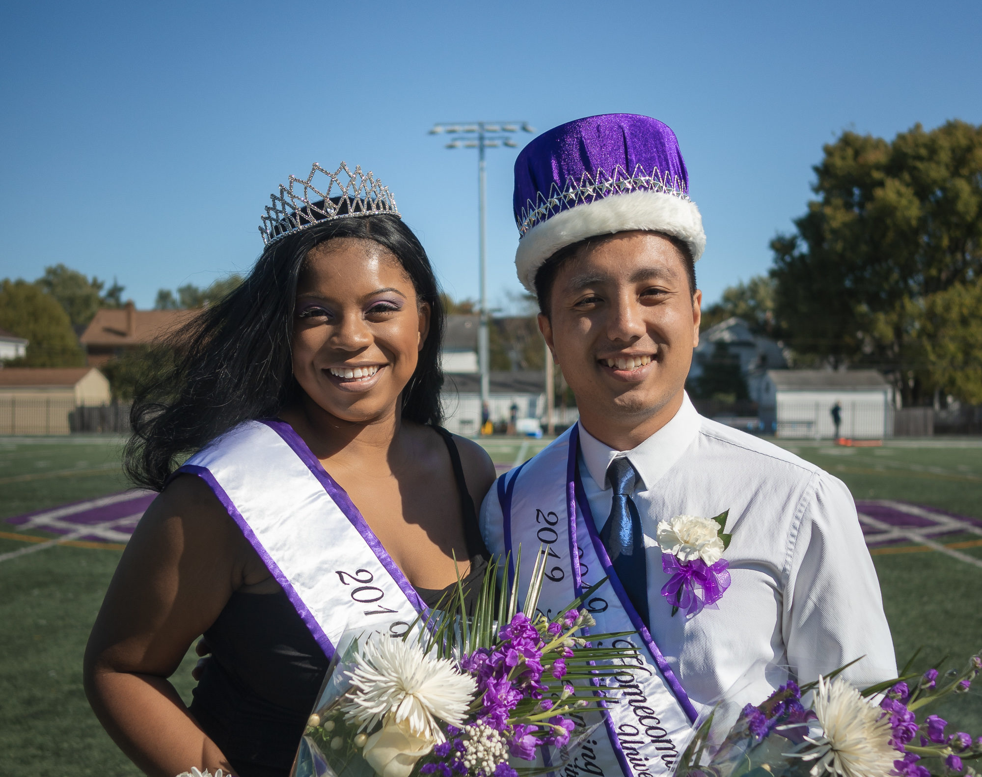 Homecoming royalty on their campus impact and crowning
