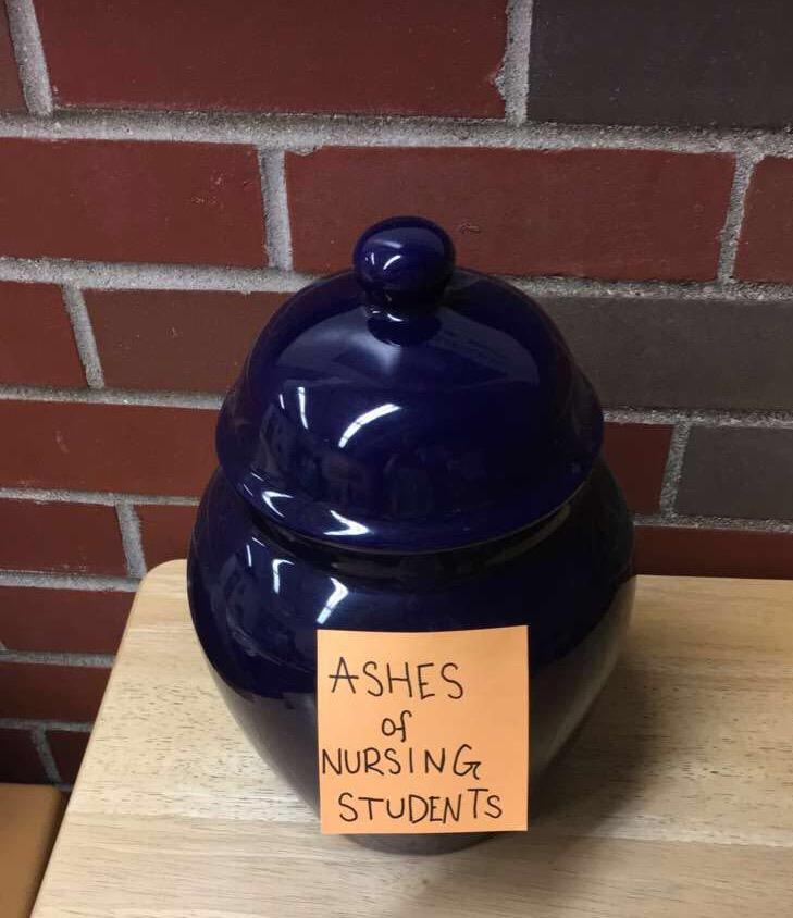 Suspicious urn sparks controversy