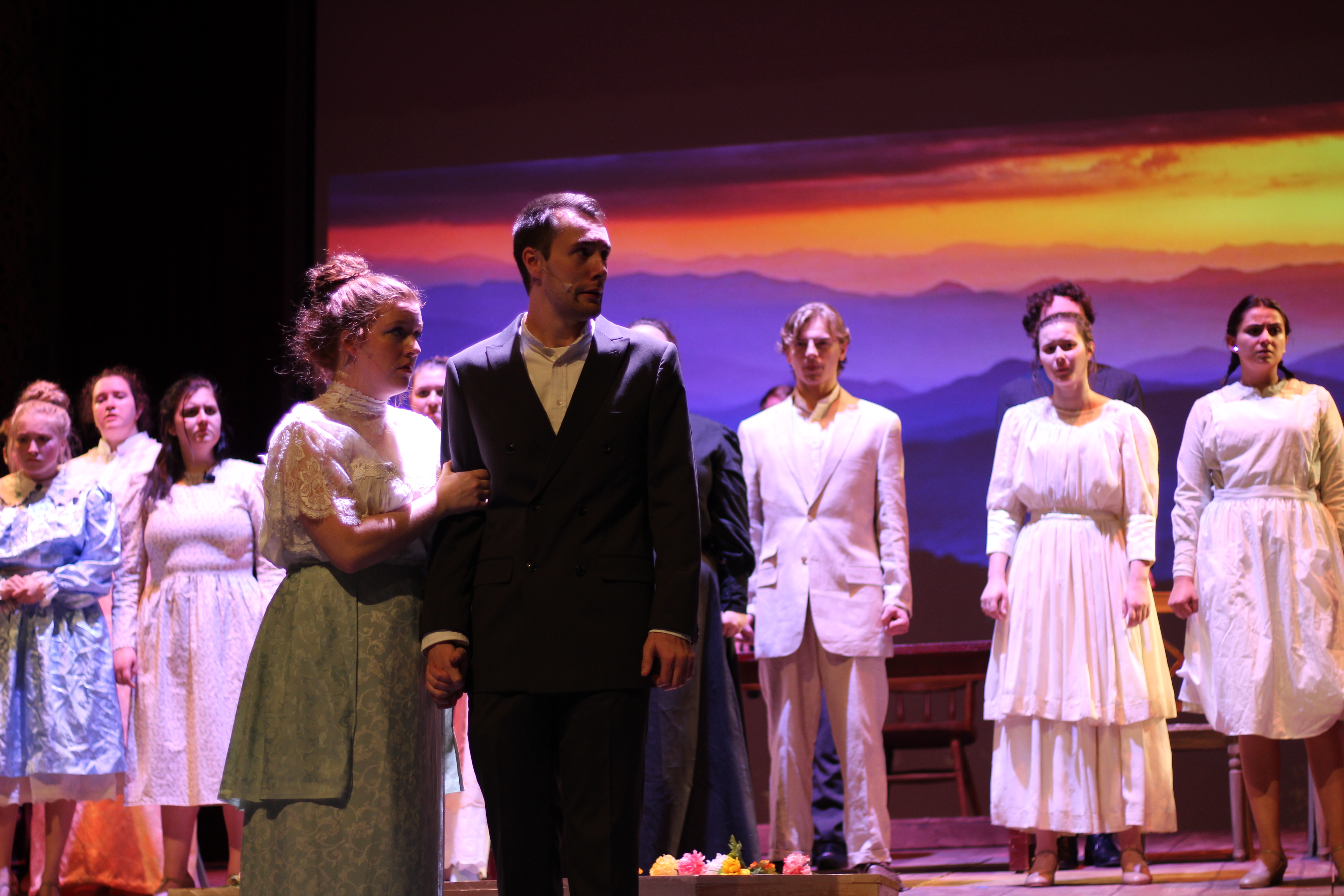 """Opening this weekend in the Conservatory: """"Parade"""""""