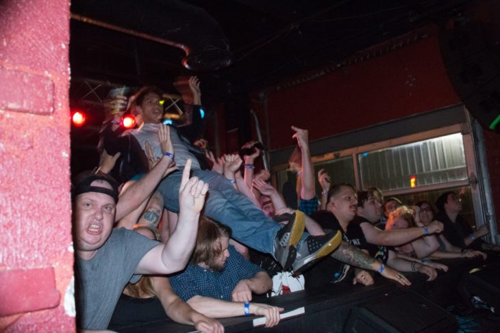 Andrew WK at A&R Music Bar, September 2015