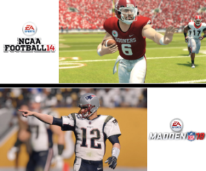 ef1b5eabb4a The graphics in NCAA 14 are starting to look dated when compared to today's  sports videogame grpahics. Images: sportingnews.com, operationsports.com,  ...