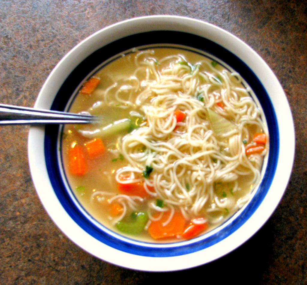 Five easy ramen recipes the chimes for How to cook chicken for chicken noodle soup