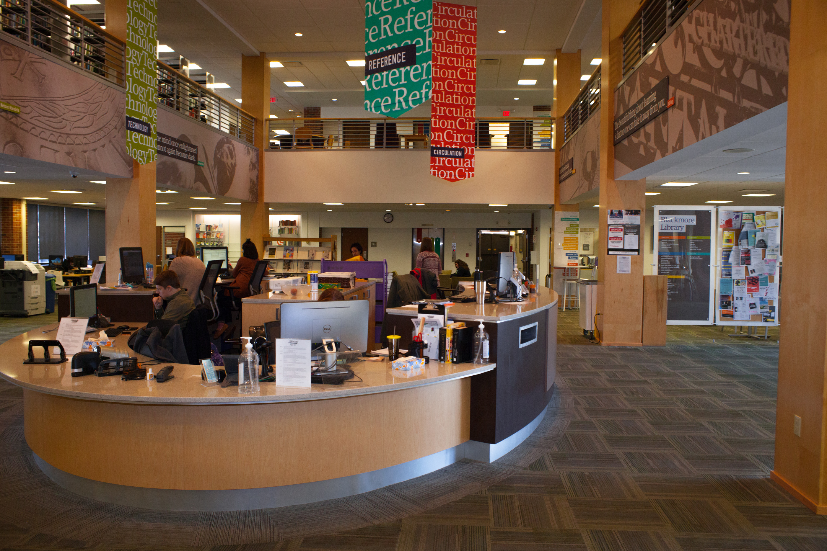 Blackmore Library updates security measures after groper incident