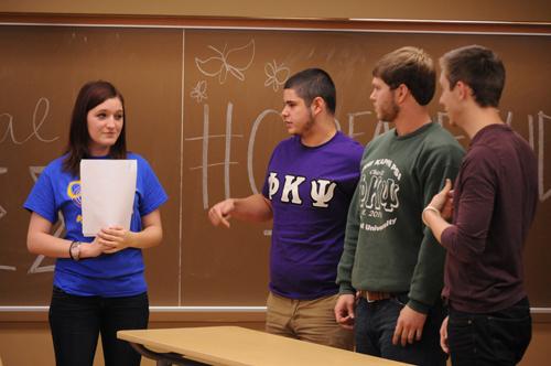 CapFamily Feud: Phi Sigma Simga raises money for education