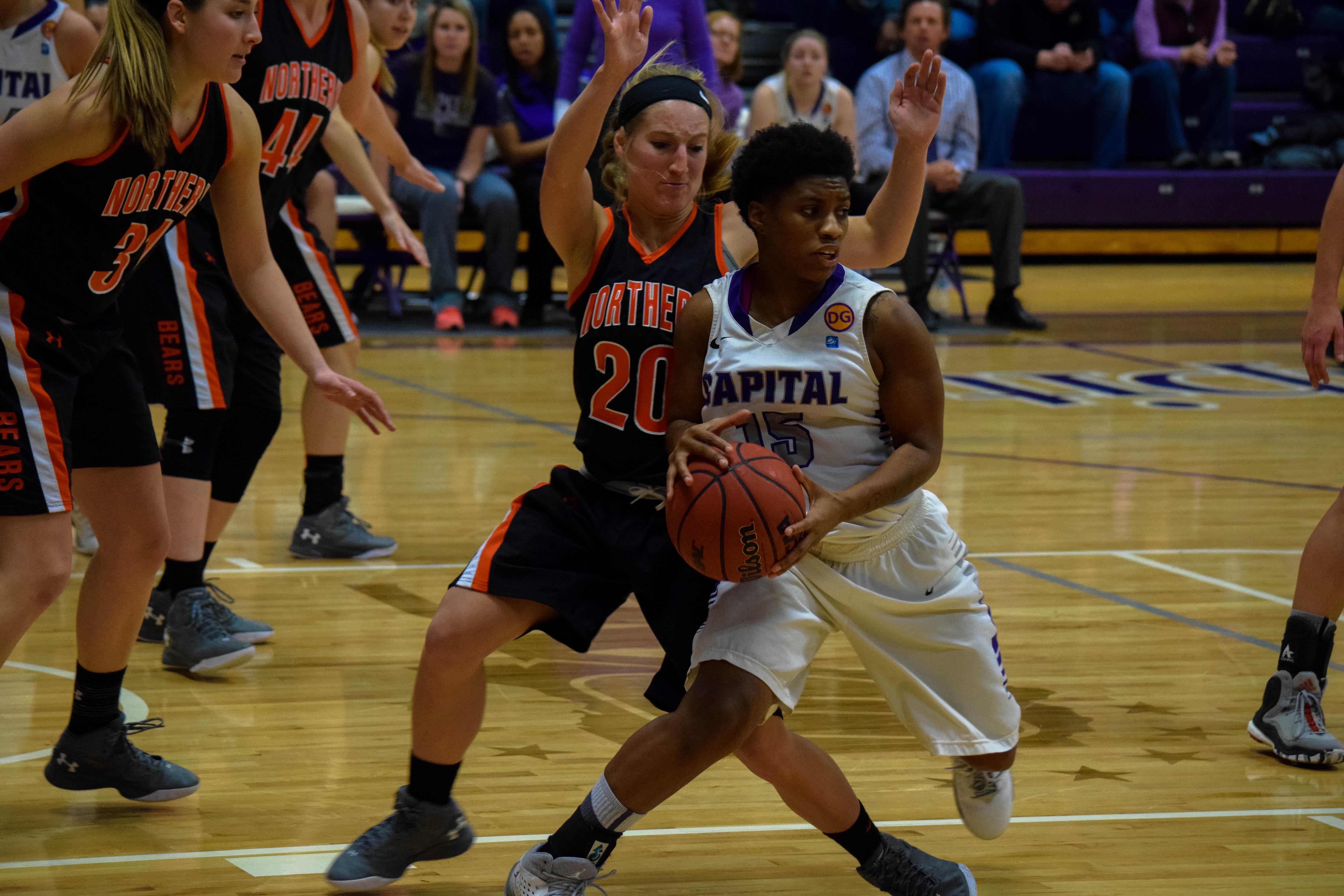 Capital Women's Basketball takes crucial win over Ohio Northern