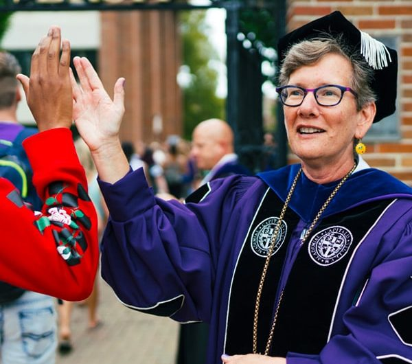 President Paul named 10th president of Nazareth College