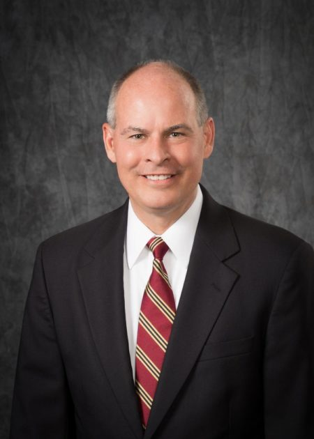 This is an image of Capital's interim president, David L. Kaufman.