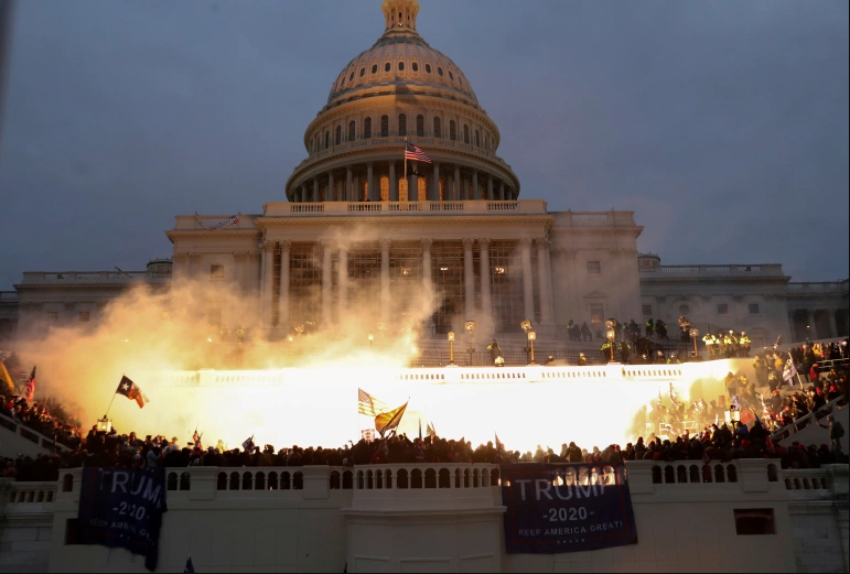 Congress certifies Electoral Vote following riot at U.S. Capitol