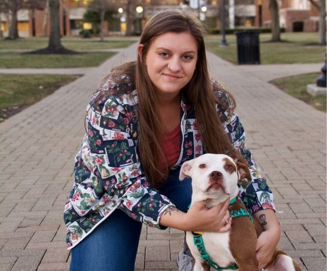 Student shares experience with emotional support animal