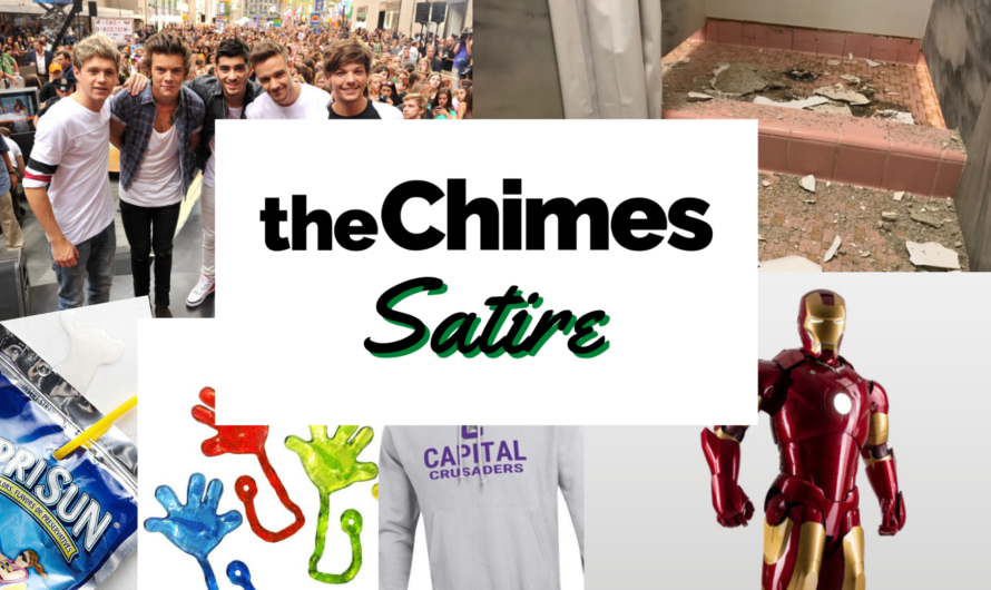 Satire: 'The Chimes' Staff Spends Their Stimulus Checks