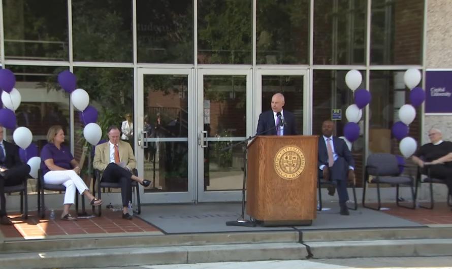 Dave Kaufman announced as Capital's 17th president