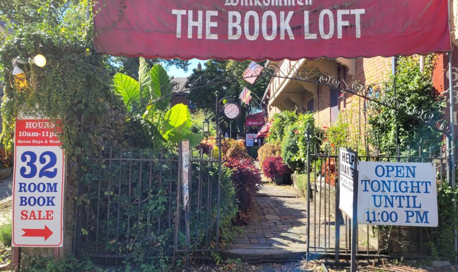 Visiting the Book Loft for the first time