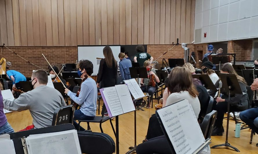 OtterCap: Capital and Otterbein join for Halloween orchestra