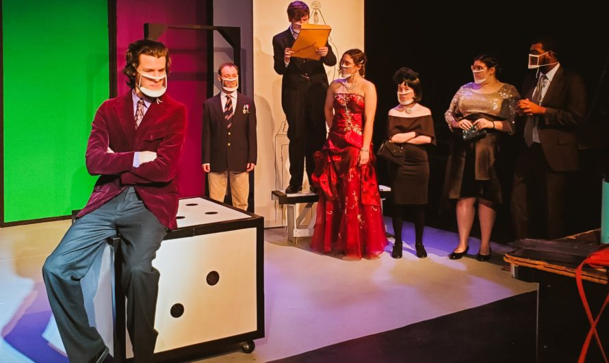 An imaginative performance of Clue: On Stage