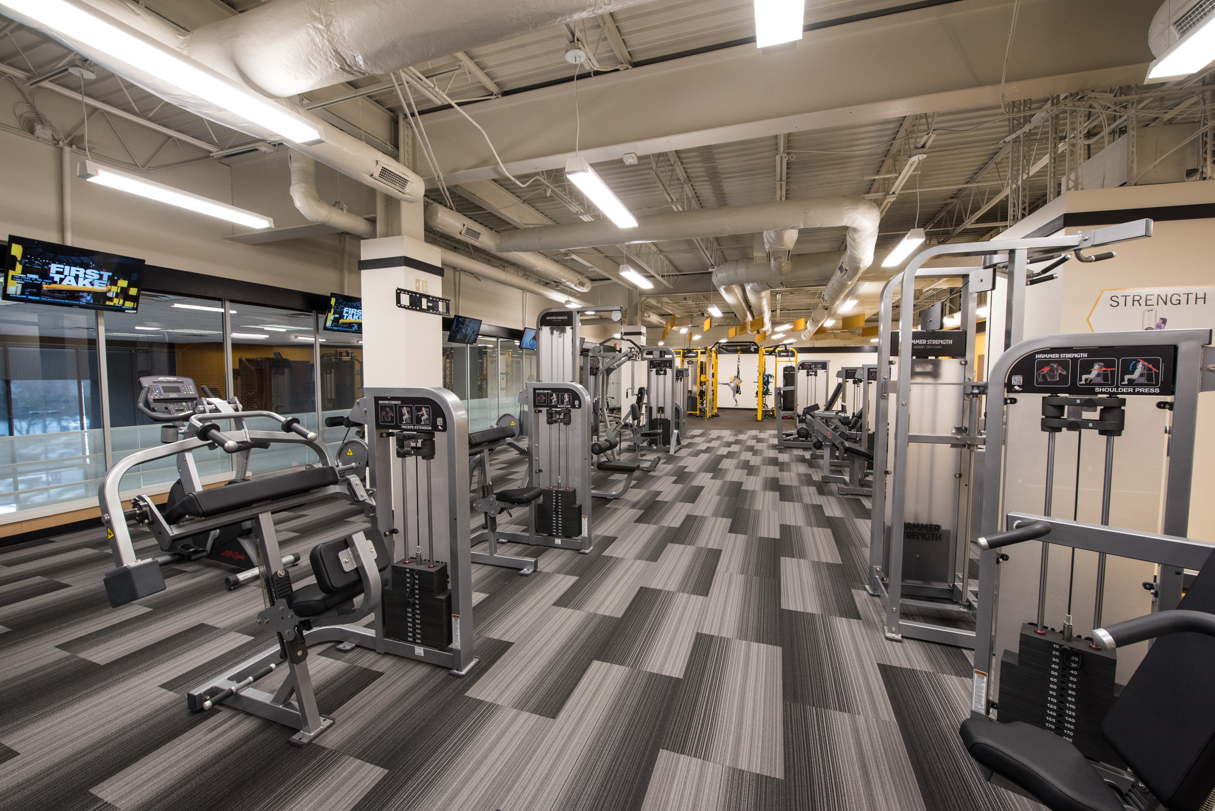 Mezz Fitness center opens as part of new semester campus developments