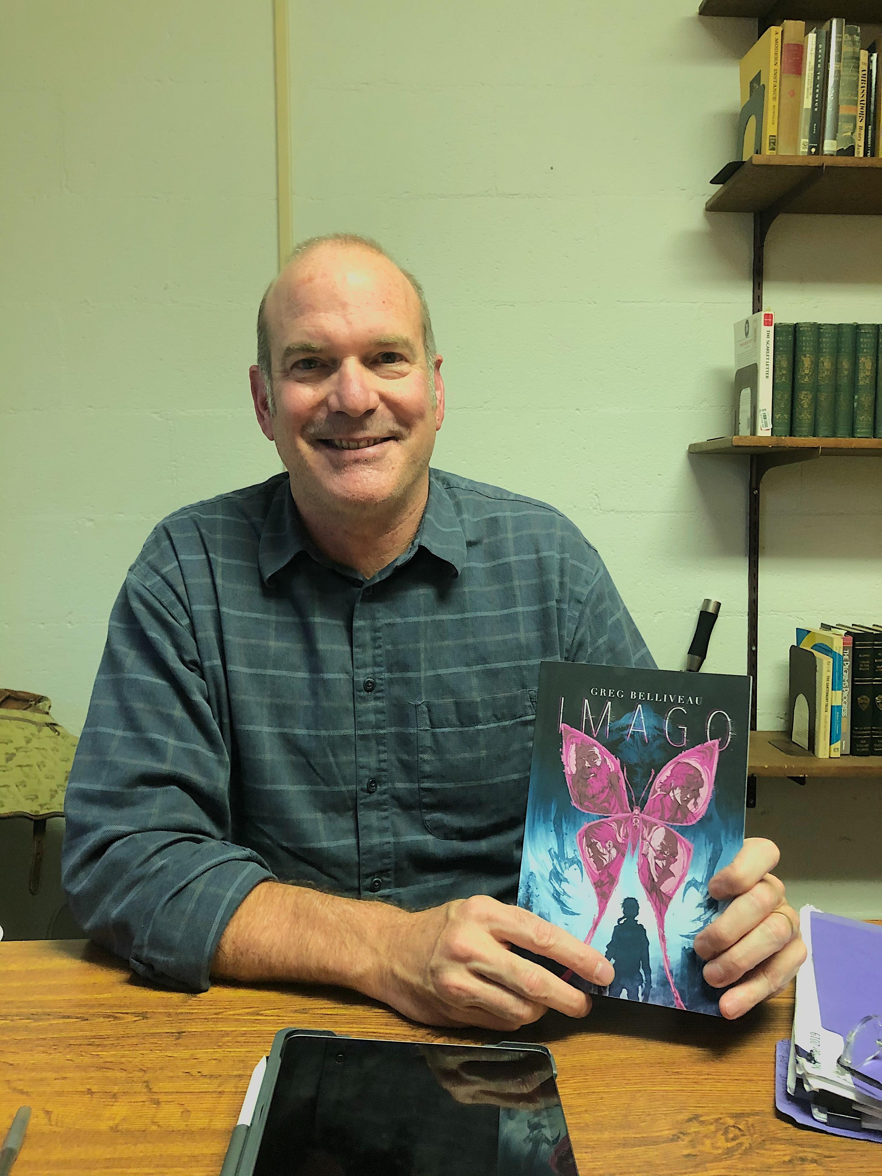 English professor releases sci-fi novel 'IMAGO'