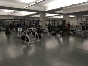 """The weight room will receive a """"simple refresh of aestetics"""" says Wesley Snow, Interim Director of Facilities."""
