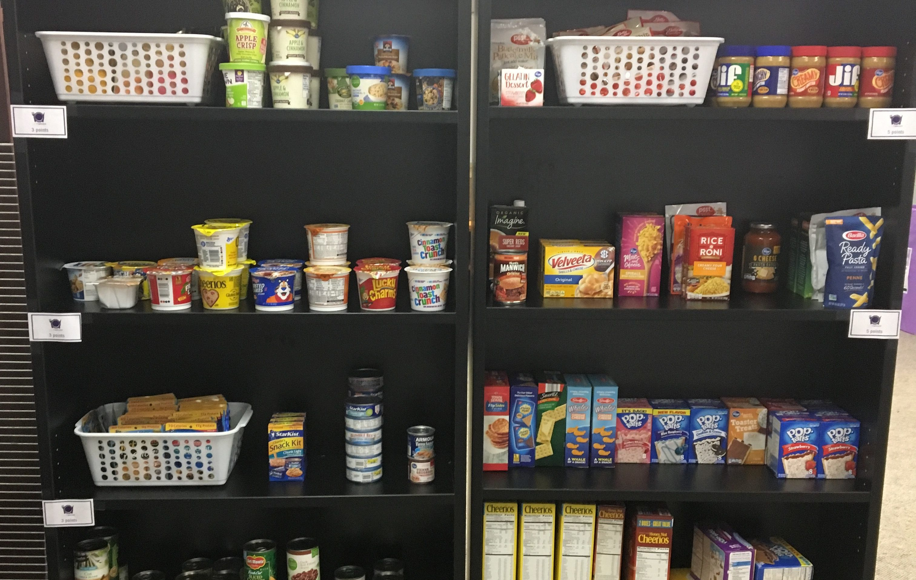 Student food pantry set to open next month