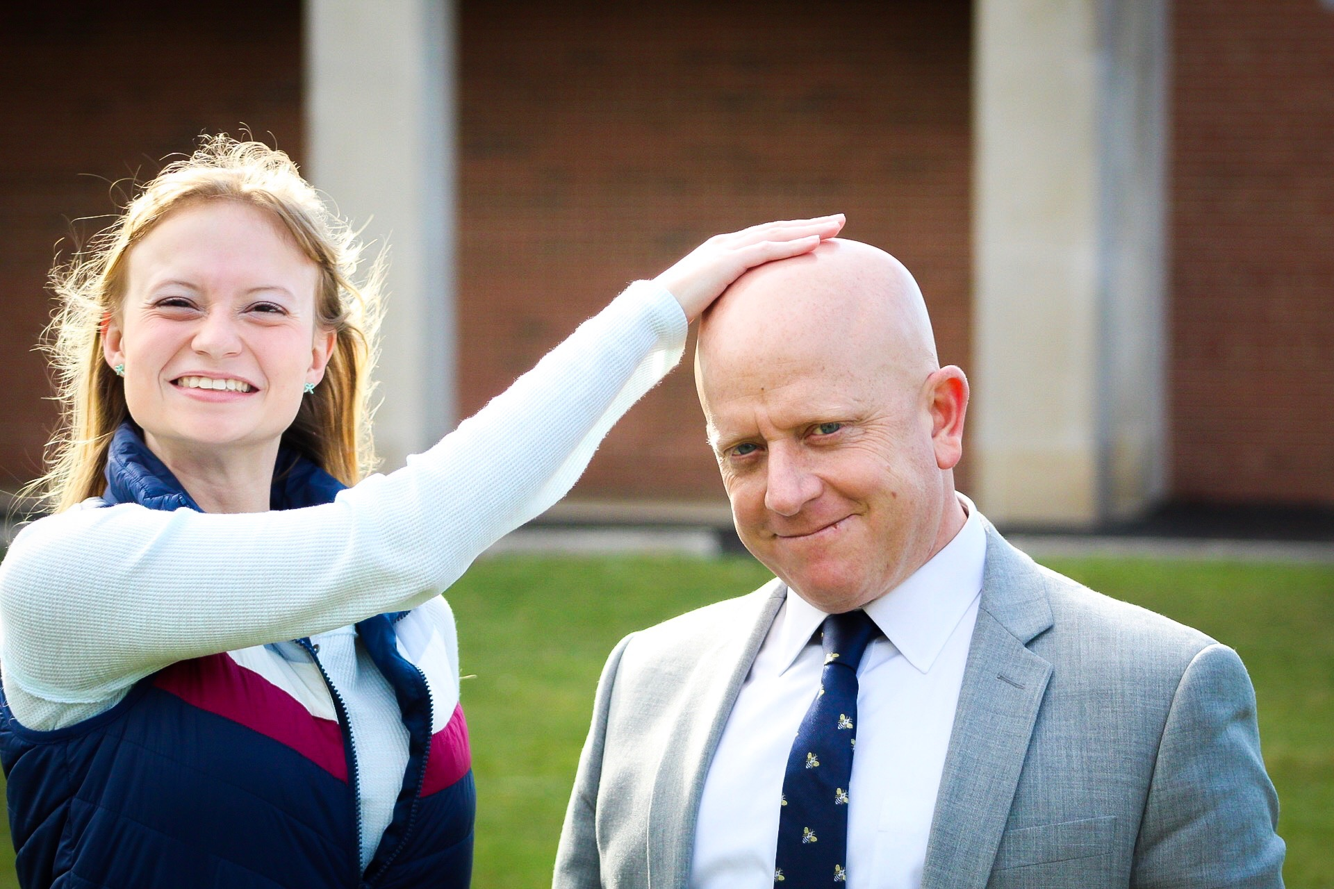 Provost reveals magical head-rubbing quality