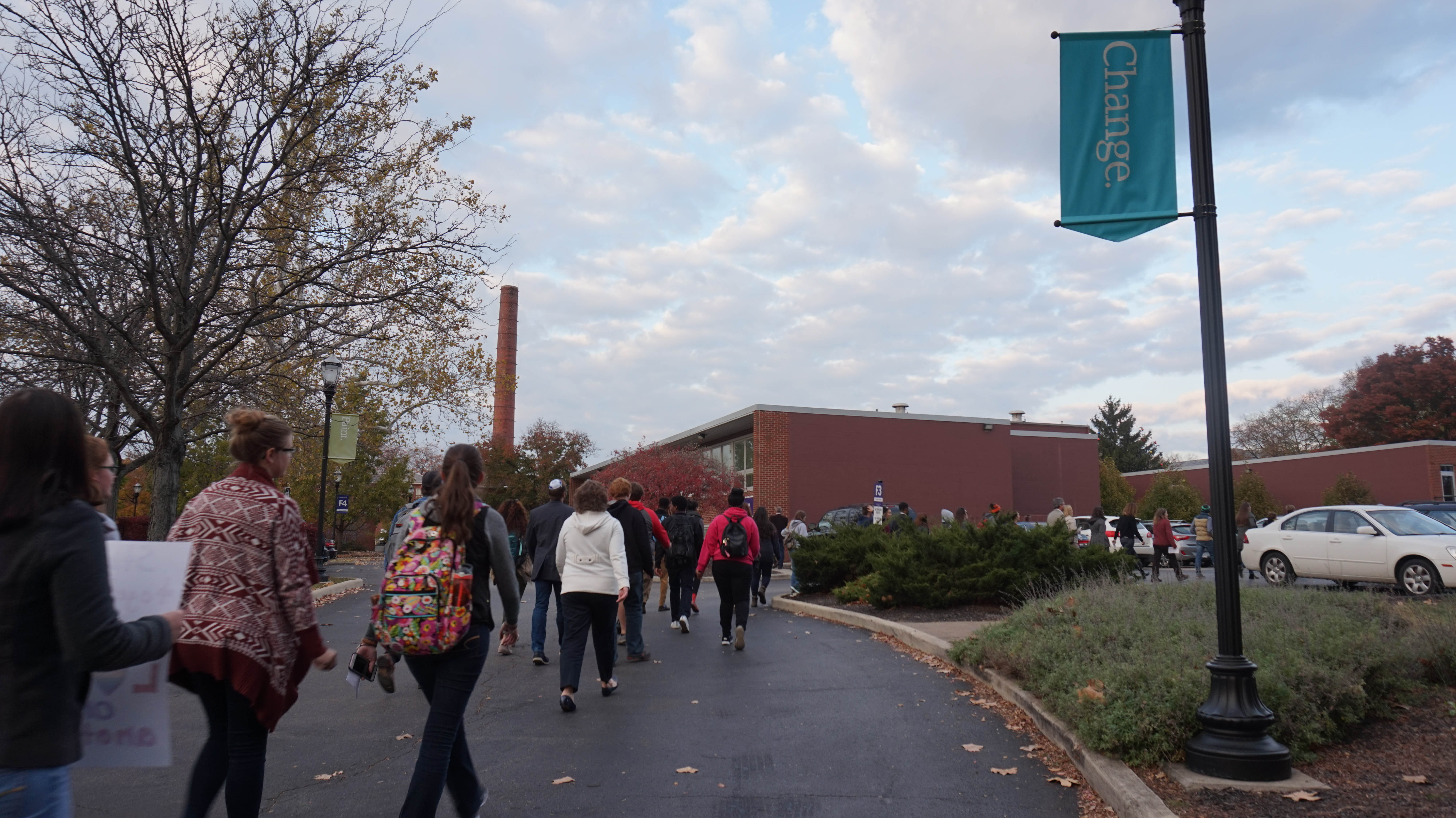 Tensions high on campus after divisive presidential election