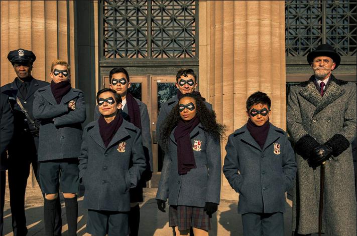 'The Umbrella Academy' showcases a new type of superhero