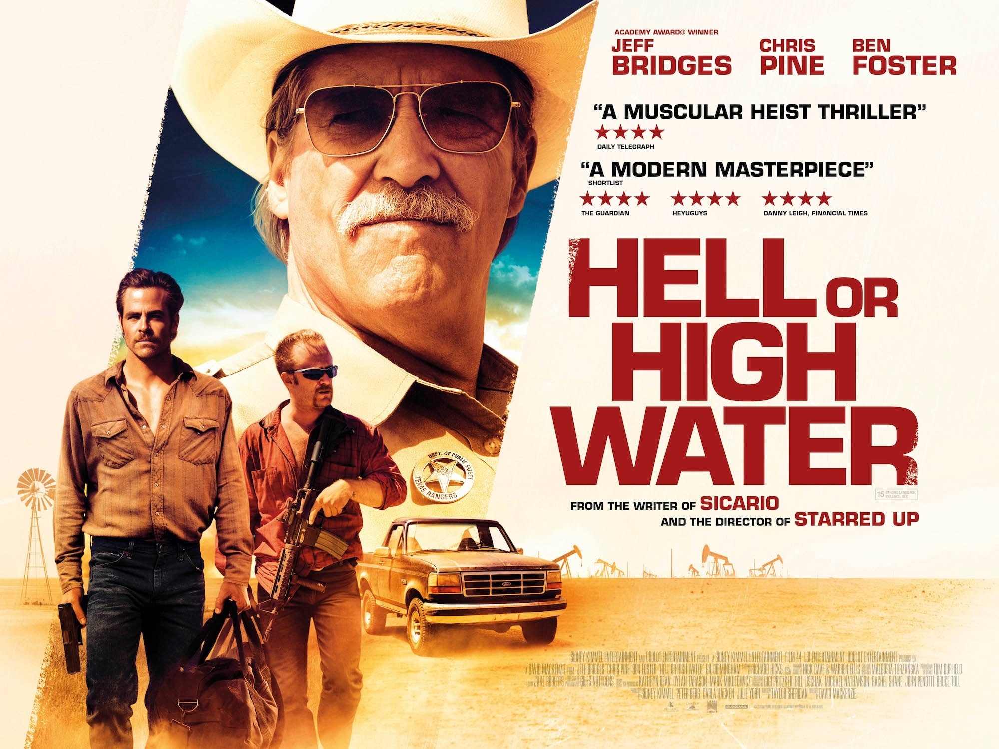 Movies at Home: Oscar contender 'Hell or High Water' elegizes a tactile past