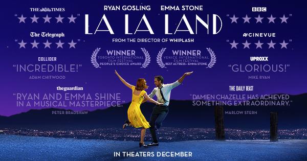 Gosling and Stone dance through film history in 'La La Land'